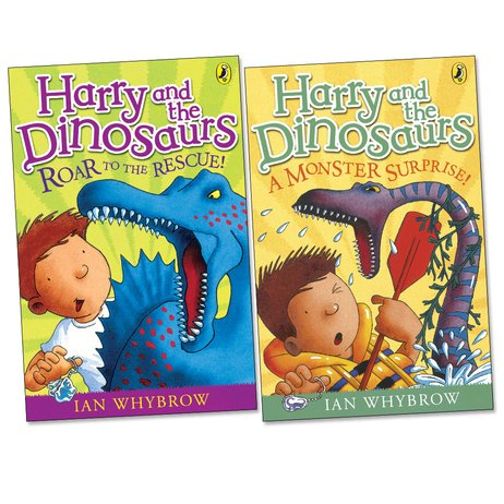 Harry and the Dinosaurs Fiction Pair