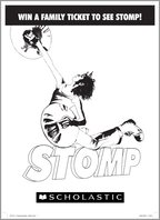 STOMP colouring sheet