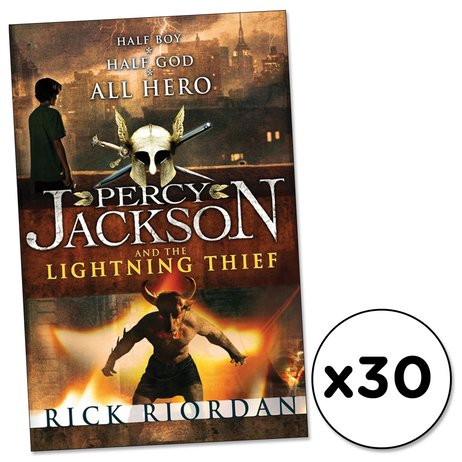 Percy Jackson and the Lightning Thief x 30
