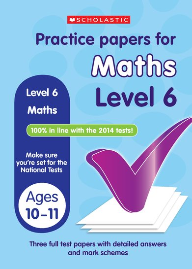 Practice Papers for National Tests: Maths (Level 6) x 6