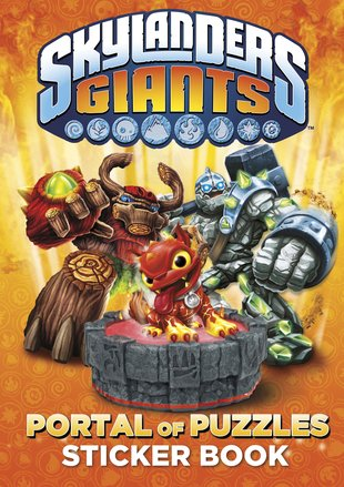 Skylanders Giants: Portal of Puzzles Sticker Book