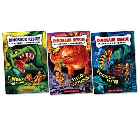 Dinosaur Rescue Pack x 3