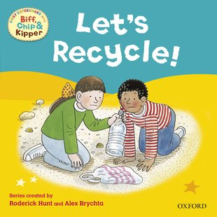 Read With Biff, Chip and Kipper: Let's Recycle!