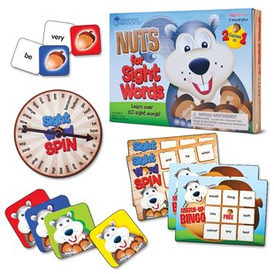 Nuts for Sight Words Board Game