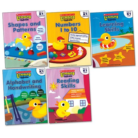 Scholastic Learning Express Activity Pack: K1