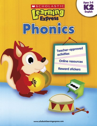 Scholastic Learning Express: Phonics (K2)