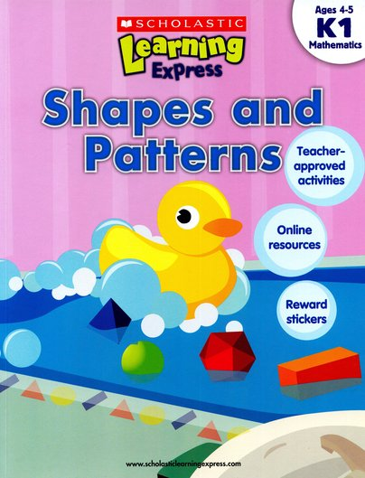 Scholastic Learning Express: Shapes and Patterns (K1)