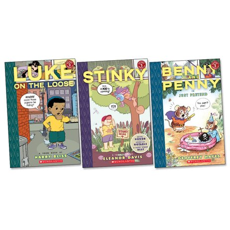 Toon Books First Comics Pack: Level 2