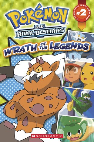 Pokémon Comic Reader: Wrath of the Legends
