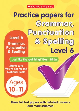 Grammar, Punctuation and Spelling (Level 6)