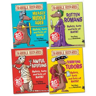Horrible Histories Pack (Junior Editions)