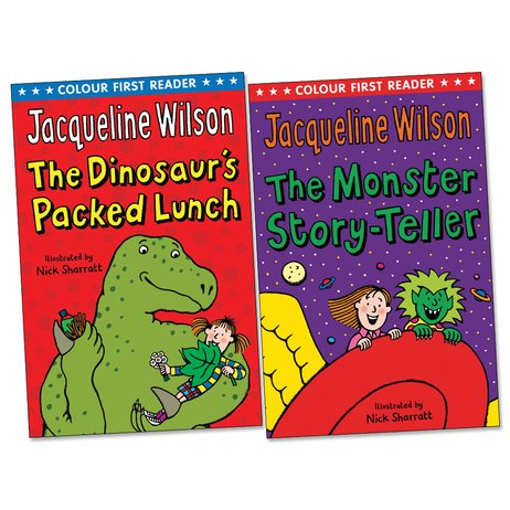 Colour First Readers: Jacqueline Wilson Pair