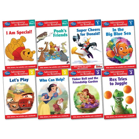 Disney Adventures in Reading Pack