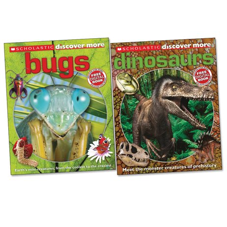 Discover More Pair: Dinosaurs and Bugs