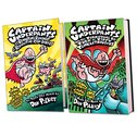 Captain Underpants Hardback Pair