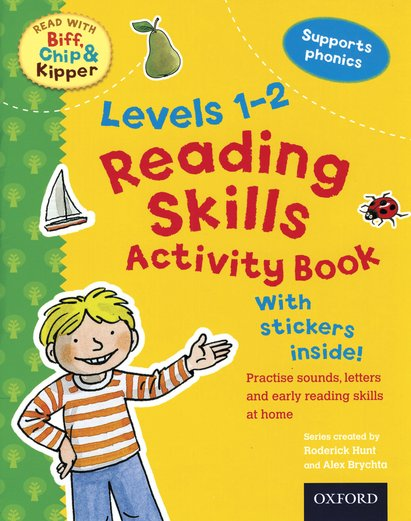 Read with Biff, Chip and Kipper: Reading Skills Activity Book (Levels 1-2)
