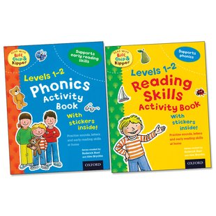 Read with Biff, Chip and Kipper: Sticker Activity Pair