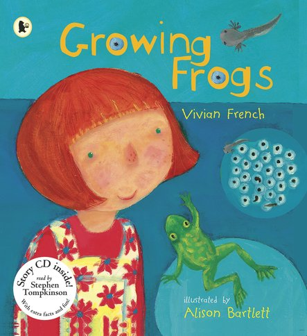 Growing Frogs: Book and CD