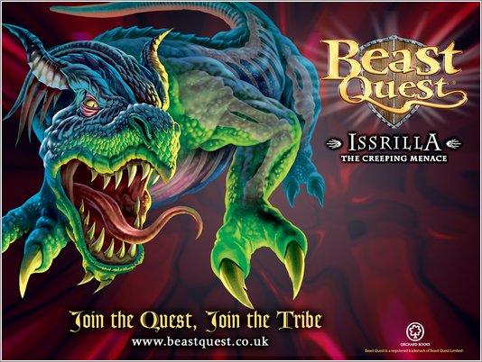 Beast Quest Issrilla wallpaper