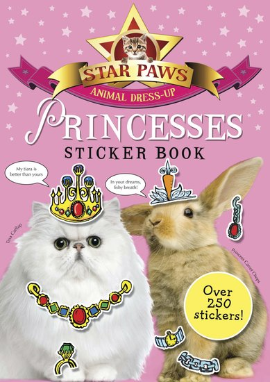 Star Paws: Princesses Sticker Book