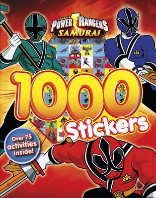 Power Rangers Samurai: 1000 Stickers