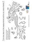 Singing Mermaid activities (3 pages)