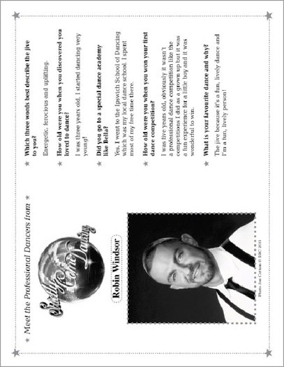 Strictly Come Dancing Dancer Profiles