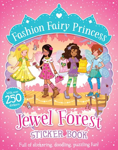 Jewel Forest Sticker Book