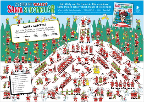 Where's Wally? Christmas Puzzle