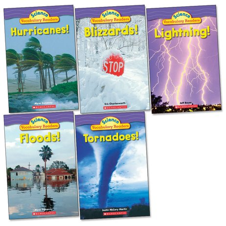 Science Vocabulary Readers Pack: Wild Weather