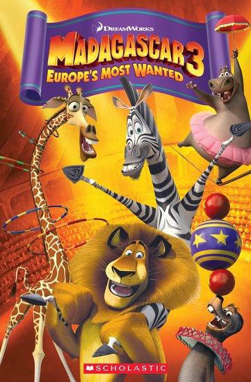 Madagascar 3 (Book and CD)