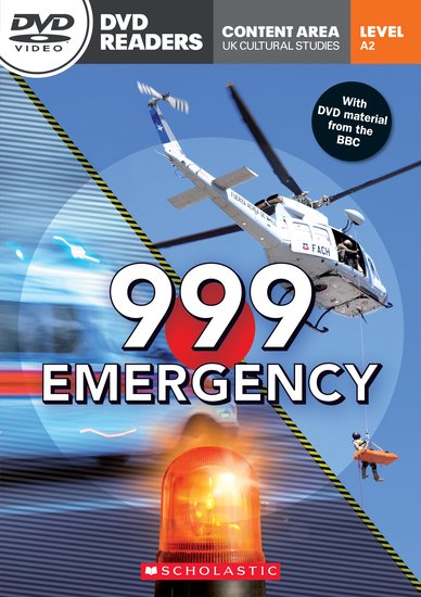 999 Emergency (Book and DVD)