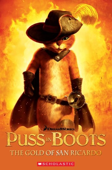 Puss-in-Boots: The Gold of San Ricardo (Book only)
