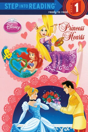 Step into Reading: Disney Princess - Princess Hearts