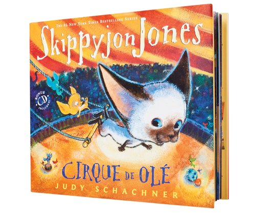 Skippyjon Jones: Cirque de Olé