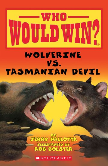 Who Would Win? Wolverine vs. Tasmanian Devil
