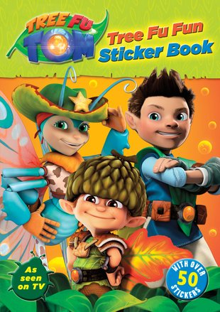 Tree Fu Tom: Tree Fu Fun Sticker Book