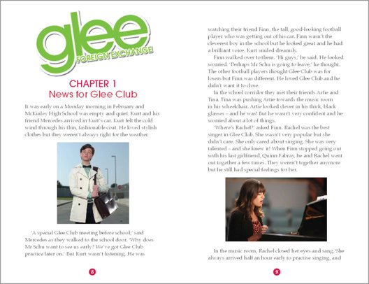 Glee: Foreign Exchange - Sample Chapter