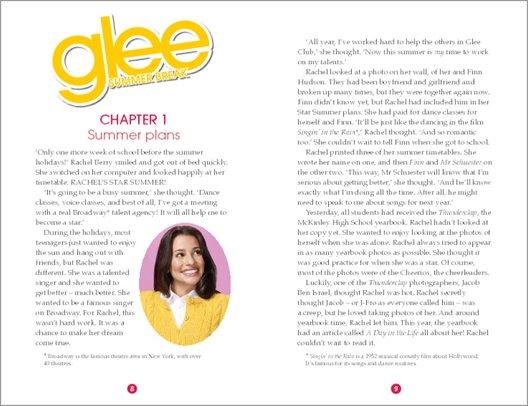 Glee: Summer Break - Sample Chapter