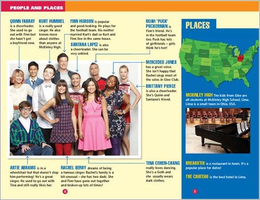 Glee: Summer Break - Sample Page