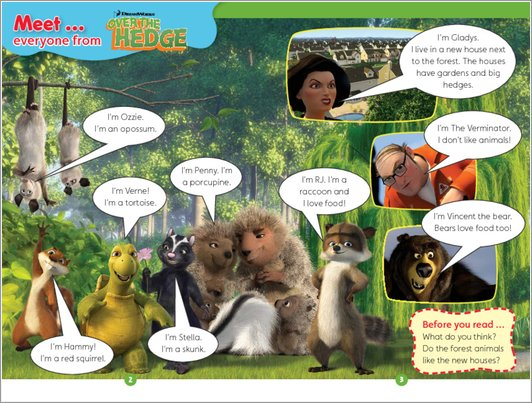Over the Hedge - Sample Page