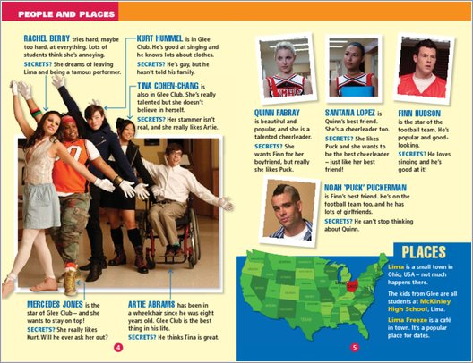 Glee: The Beginning - Sample Page