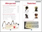 The Penguins of Madagascar: The Lost Treasure of the Golden Squirrel - Sample Activities (1 page)