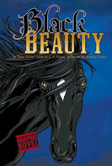 Graphic Revolve: Black Beauty