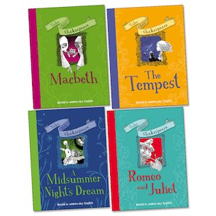 Tales from Shakespeare Pack x 4