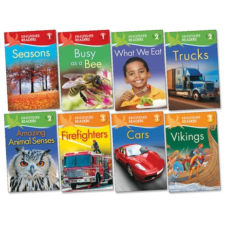 Kingfisher Readers Pack: Levels 1-3