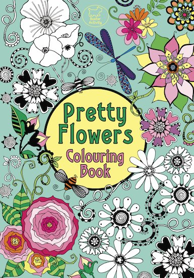Pretty Flowers Colouring Book