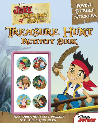 Jake and the Never Land Pirates: Treasure Hunt Activity Book