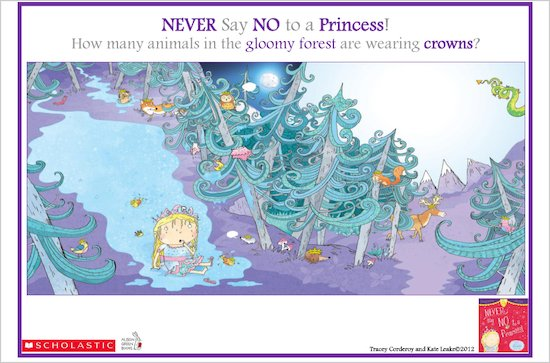 Never Say No to a Princess Puzzle