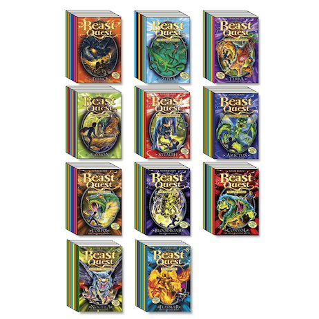 Beast Quest Mega Pack: Series 1-11